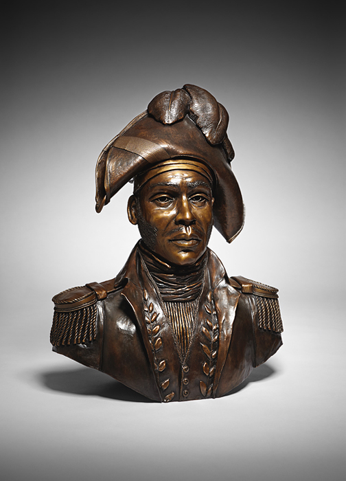 Homage to Jean-Jacques Dessalines, father of the Haitian nation, sculpture by Dominique Dennery