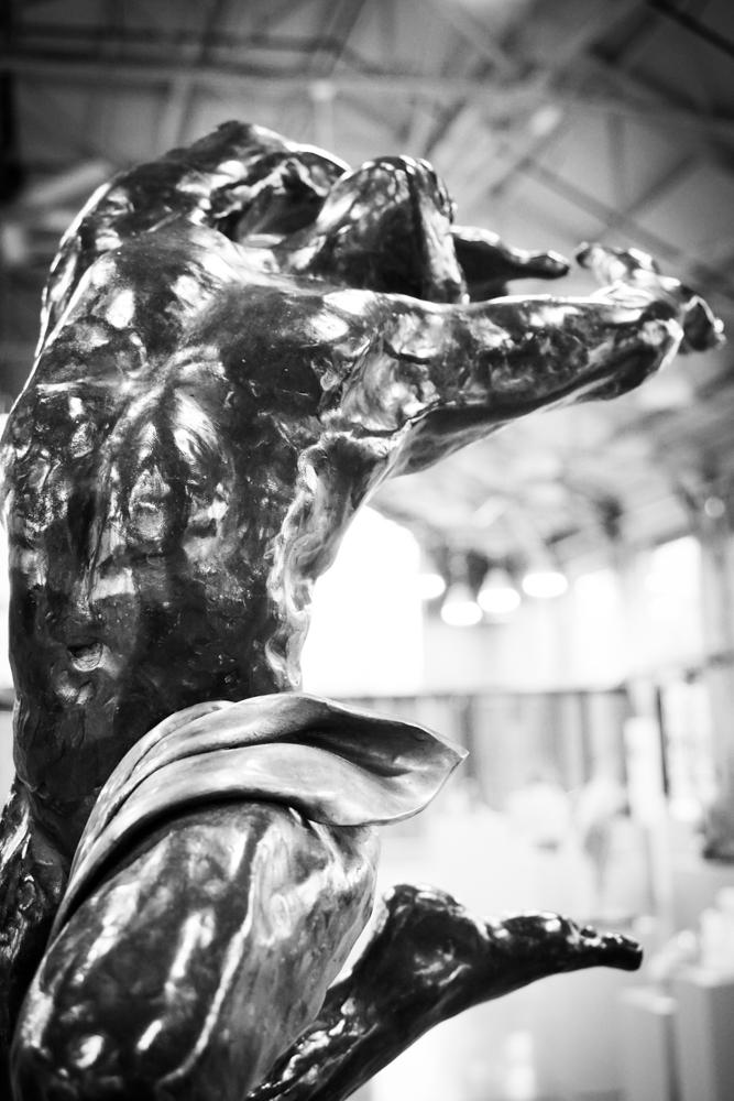 Icarus, bronze, 36″x24″x18″